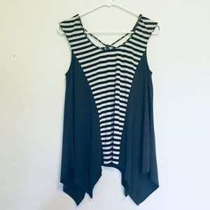 Anthro. One September Striped Top